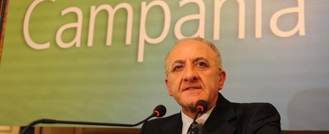 Campania, sospesa la sospensione. De Luca torna governatore