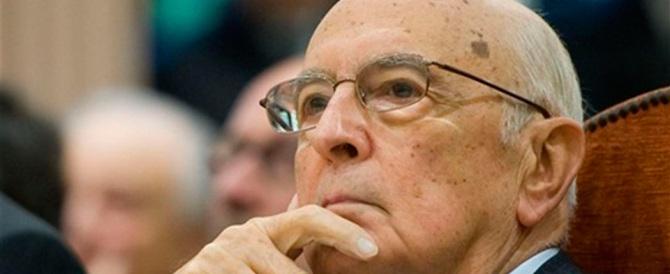 «Nessuno peggio di Napolitano, è ancora lui il regista occulto»