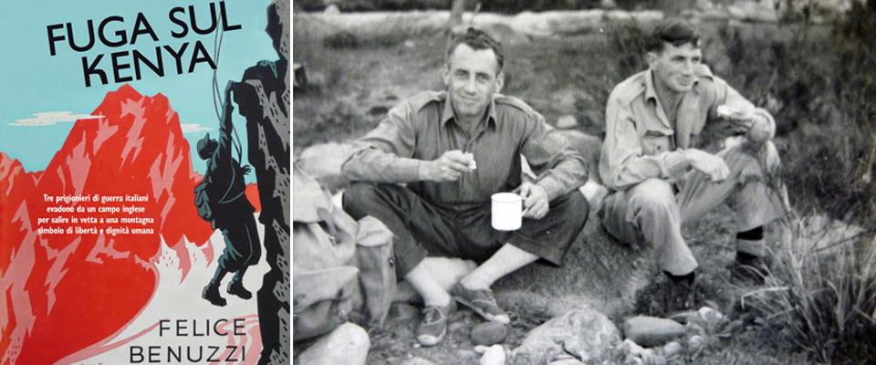 Felice Benuzzi e la copertina del suo libro