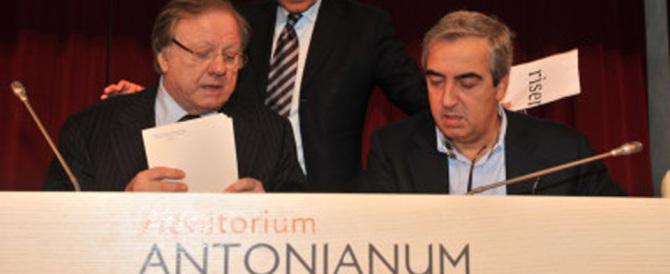 Matteoli e Gasparri allertano il Cav: «In Forza Italia non si fa più politica»