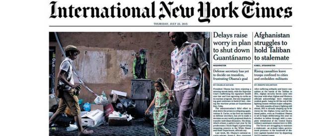 """E il degrado di Roma finisce in prima pagina sul """"New York Times"""""""