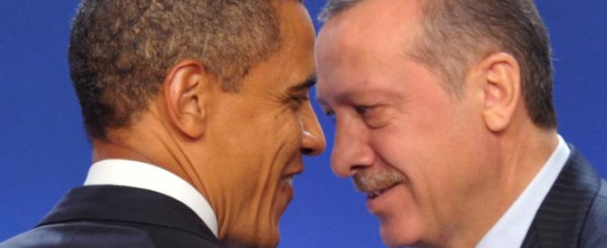Turchia, telefonata Erdogan-Obama apre base Nato a coalizione anti Isis