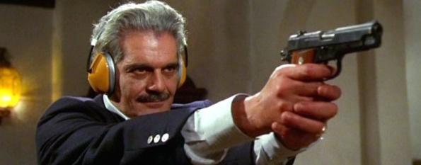 Omar Sharif era anche un appassionato di armi