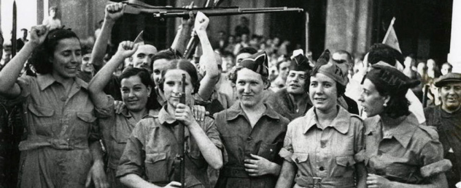 Dopo i Padri costituenti, arrivano le Madri della Resistenza: Pd senza ritegno