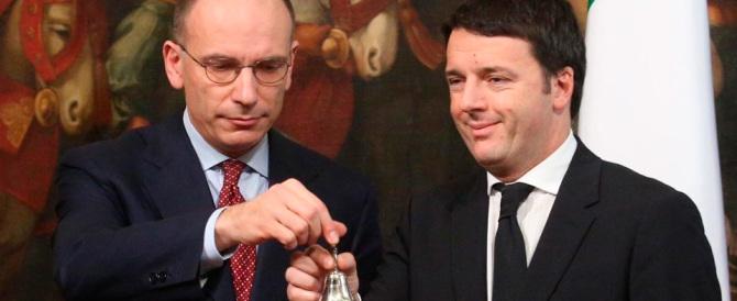 Renzi stai sereno. La  vendetta fredda di Letta: alle primarie voterò Orlando