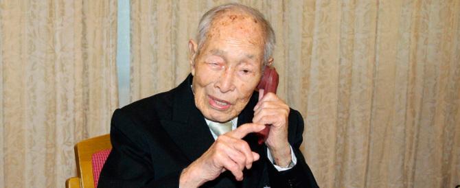 "Giappone, è morto a 112 anni Sakari Momoi, il ""matusalemme"" del pianeta"