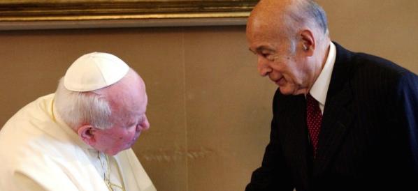 Radici cristiane, quando Giscard rifiutò la lettera di Giovanni Paolo II