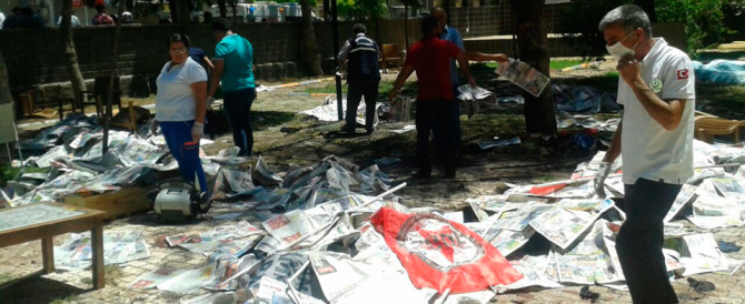 Turchia, 49 arresti dopo le proteste per la strage di Suruc