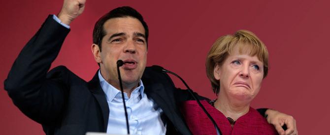 Sondaggi greci: a Tsipras la maggioranza assoluta. Grazie alla Merkel