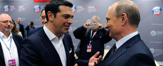 Più forte l'asse Atene-Mosca. Da Putin sostegno al popolo greco