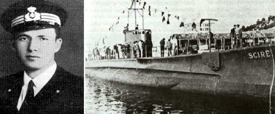 Antonio Marceglia e il sommergibile Sciré