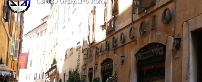 Mafia, sequestrato il Barroccio: il ristorante più amato dai politici romani