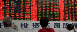 Sindrome cinese sulle Borse: Shangai crolla, l'Europa arranca