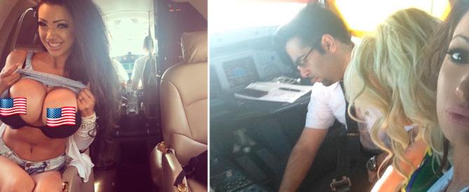 Il pilota e la pornostar: eros ad alta quota sul volo della Kuwait Airways (video)