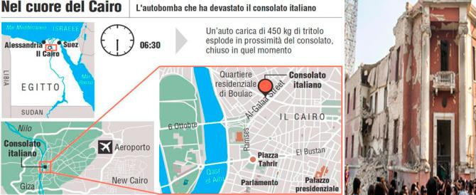 Bomba al Cairo: era proprio l'Italia l'obiettivo dei terroristi islamici