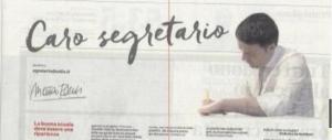 Renzi s'è fatto la posta del cuore sull'Unità: «Compagni, torneremo al 40%»