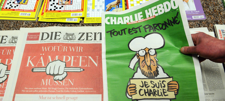 Charlie Hebdo in edicola