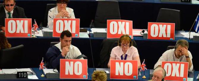 Il dibattito all'Europarlamento: requiem per un'Europa mai nata