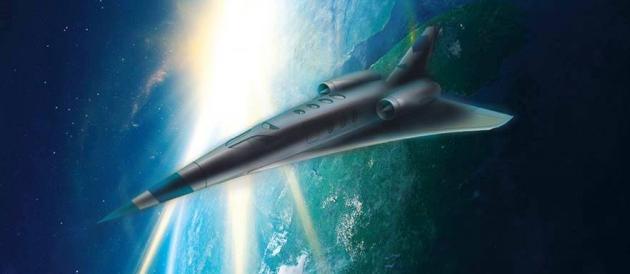 Progettato in Italia il super-jet che andrà da Roma a New York in due ore