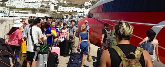 Niente panico, nelle isole greche nessuno si è accorto della crisi