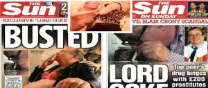 Londra, video incastra Lord laburista: festino hard con prostitute e cocaina (video)
