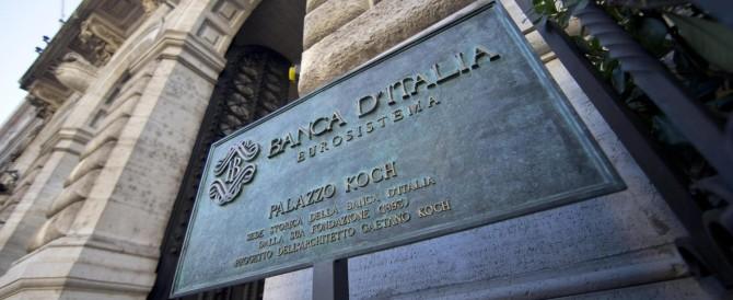 Bankitalia, debito pubblico da brividi: 23,4 miliardi in più in un solo mese