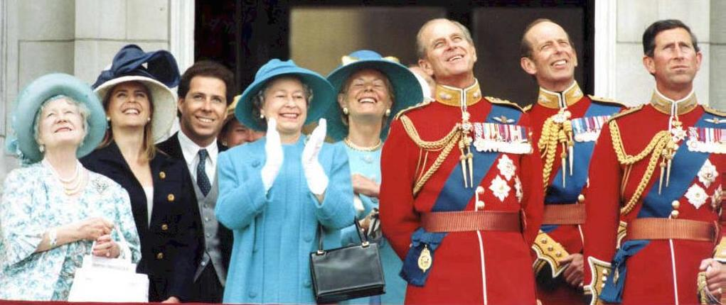 Il Duca di Edimburgo con la consorte Elisabetta II