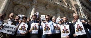 "Salvini: ""Io, Silvio e Giorgia insieme a Bologna per mandare a casa Renzi"""