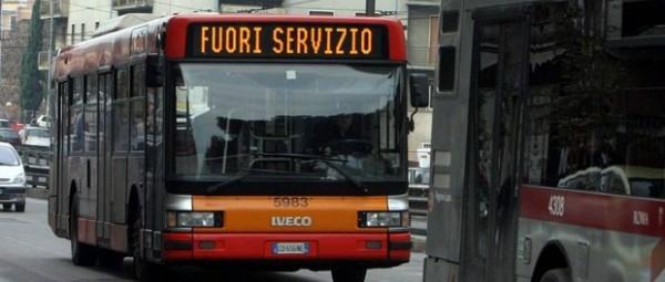 A Roma 700 bus e tram fermi ogni giorno e mezzi vecchi anche 60 anni