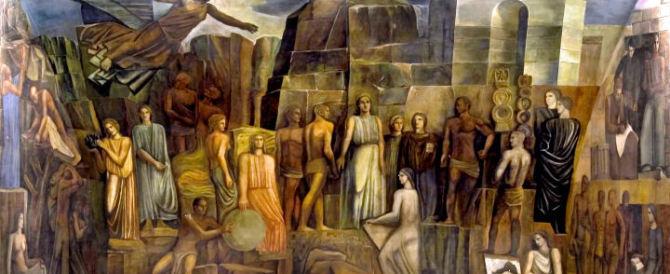 Si restaura il murales fascista di Sironi: dopo 80 anni no a censure