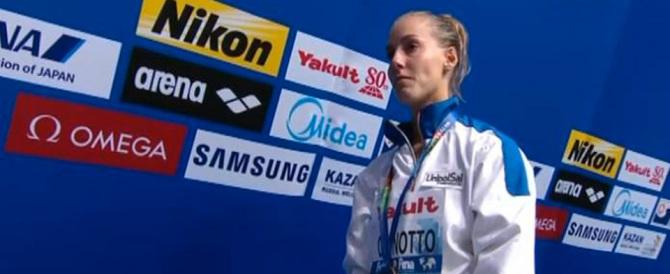 Tania Cagnotto fantastica: medaglia d'oro nei tuffi ai Mondiali di Kazan