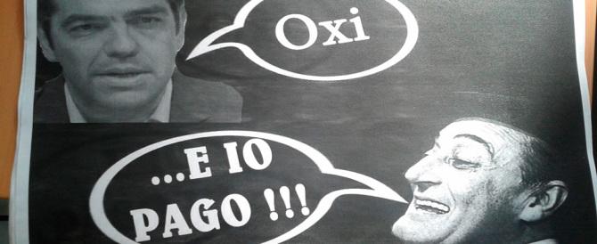"""A Strasburgo Salvini ringrazia Tsipras, Forza Italia arruola Totò: """"E io pago"""""""