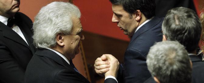 Verdini stampella di Renzi? A Bersani scappa da ridere: è una cosa dadaista