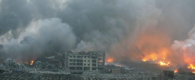 «Come un sisma». Guarda il video dell'esplosione censurata dalla Cina