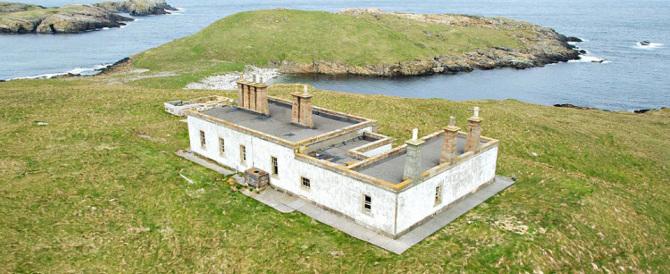 In vendita una remota isola scozzese: non ci sono comfort ma costa poco