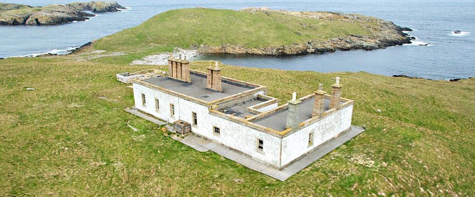 In vendita una remota isola scozzese non ci sono comfort for Chauffer un garage non isole