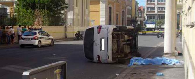 L'autista del furgone-killer si giustifica: perso il controllo per un colpo di tosse