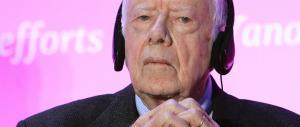 Jimmy Carter annuncia: «Ho un cancro». Obama: «L'America è con te»
