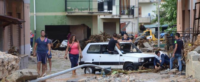 Nubifragio in Calabria, centinaia di sfollati: ora è allarme sciacalli (VIDEO)