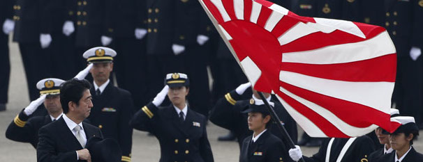 Il premier Shinzo Abe