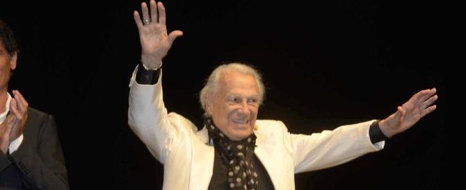 Giorgio Albertazzi, 91 anni, dalla Rsi alle memorie di Adriano. Ed è evento