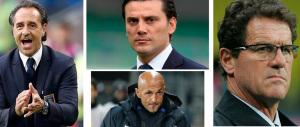 Riparte la serie A. Ed ecco i sette allenatori italiani in cerca di panchina