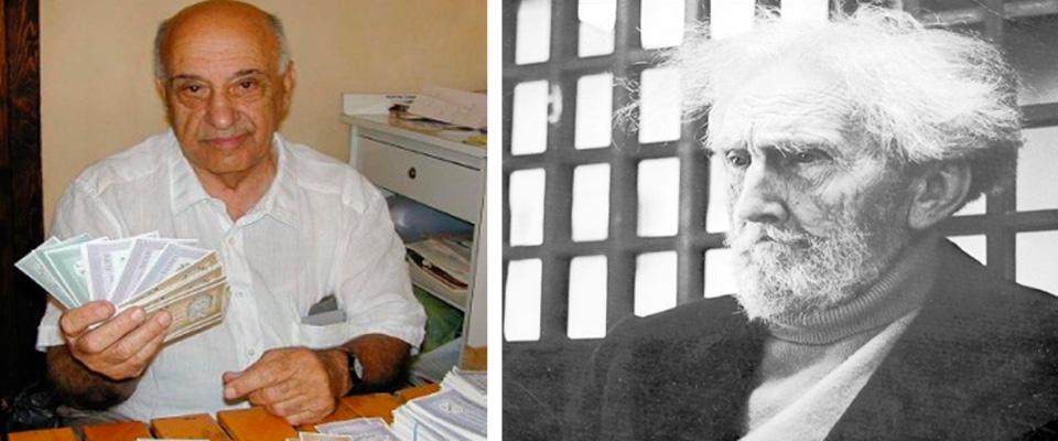 Giacinto Auriti ed Ezra Pound