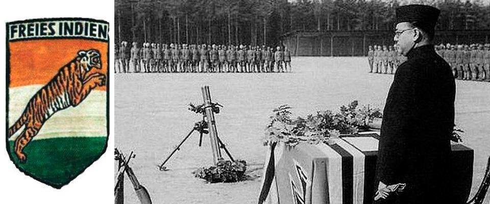 Chandra Bose e il simbolo delle SS indiane