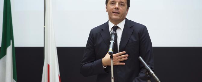 Sul Sud solo retorica e niente più: Renzi pensa solo all'ombrellone