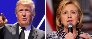 Usa 2016, è guerra di sondaggi. Una certezza: lo scontro Clinton-Trump è al top