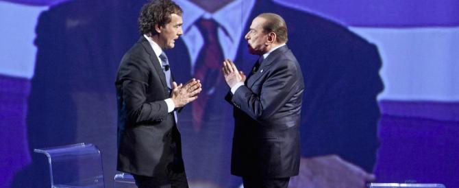 Giletti: io candidato con Berlusconi? Per ora no, ma in futuro mi piacerebbe
