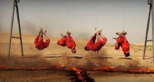 Isis, arriva un altro video shock: arsi vivi quattro miliziani sciiti iracheni