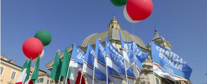 Meloni incalza Renzi sul Mezzogiorno: «Il Sud non si aiuta con i proclami»