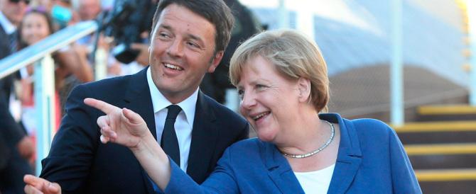 Expo, Matteo in ginocchio da Angela. Accuse da destra: «Ha svenduto l'Italia»